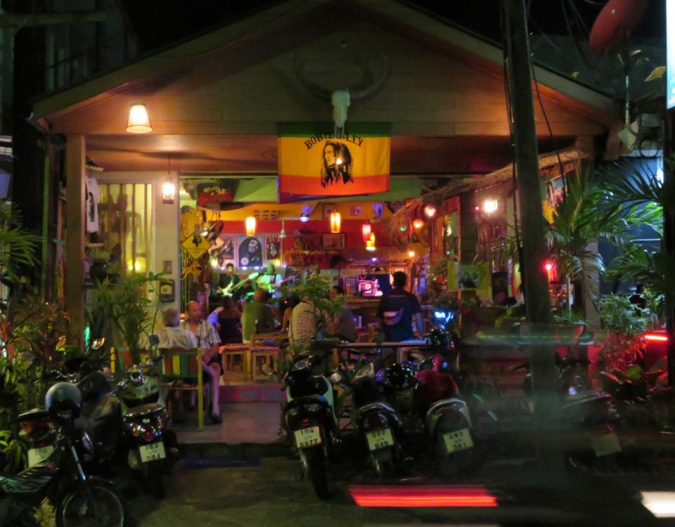 Phuket Reggae Bar - Roots Rock Reggae, Nanai Road, Patong Beach, Phuket