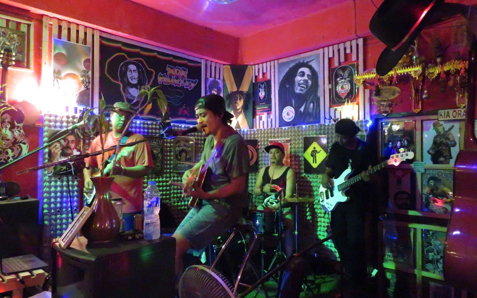 Live music at Roots Rock Reggae Nanai Road