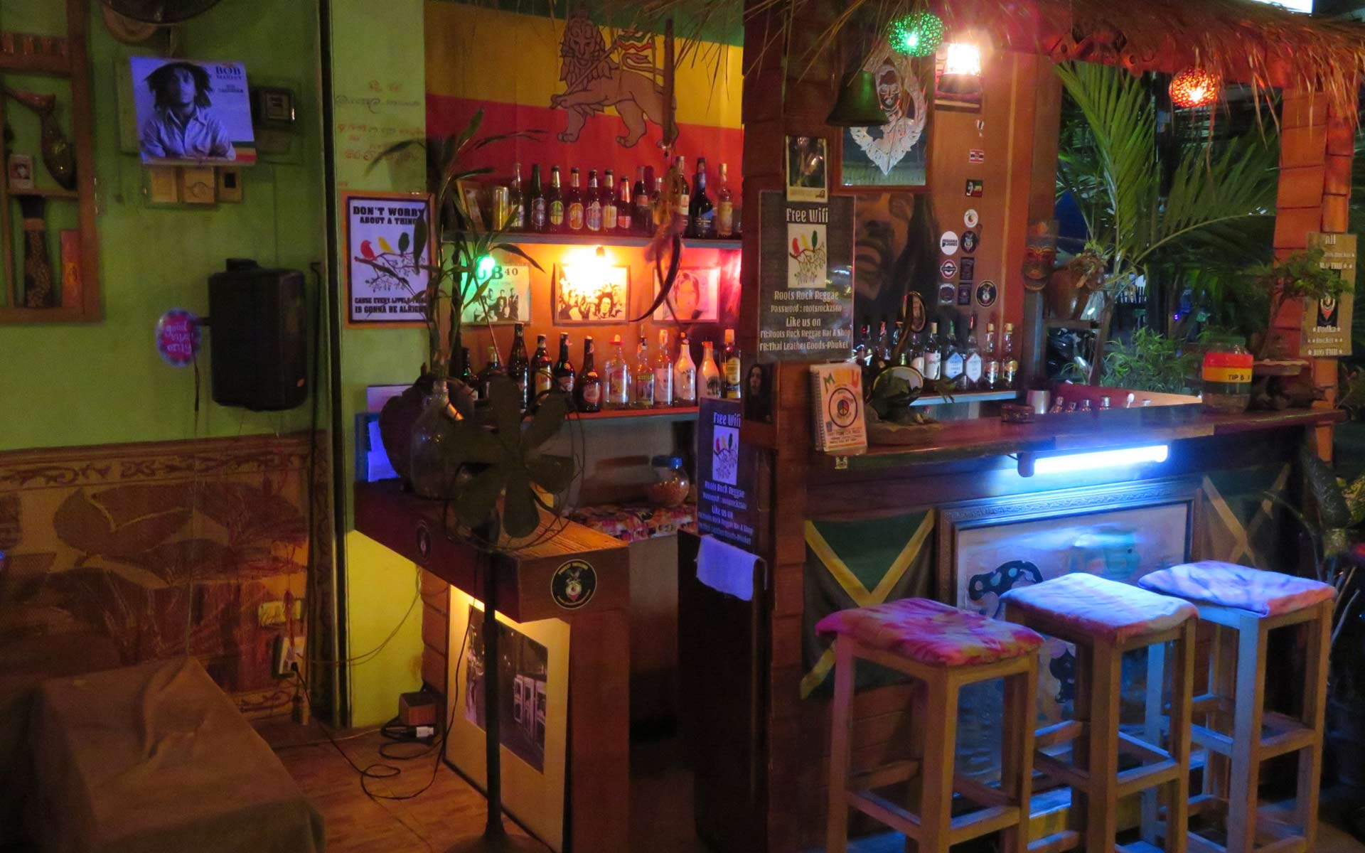Bar for Reggae music lovers in Patong Beach